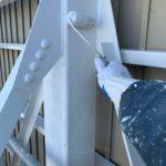 稲沢市にて屋根・鉄骨部分の塗装