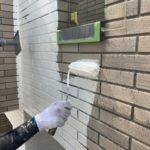 稲沢市にて外壁塗装 ~下塗り~
