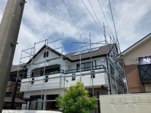 稲沢市にて外壁塗装工事 ~完工~